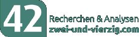 Zwei und vierzig Logo